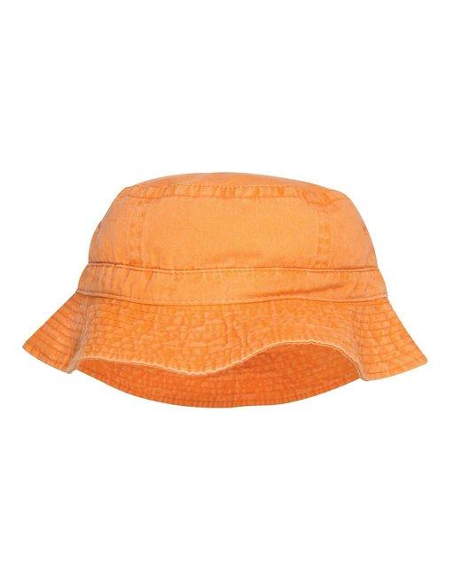 Adams Vacationer Pigment Dyed Bucket Hat - Tangerine