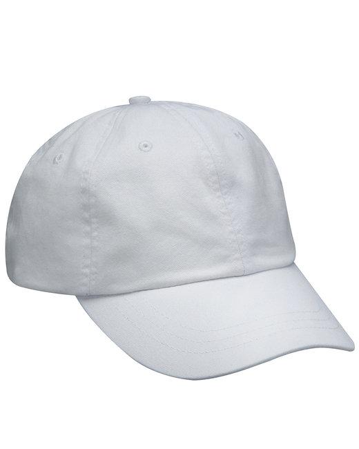 Adams Optimum Pigment Dyed-Cap - White