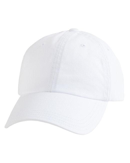 Alternative Basic Chino Twill Cap - White