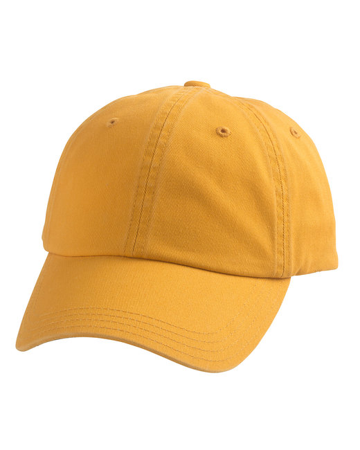 Alternative Basic Chino Twill Cap - Mustard