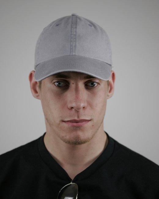 Alternative Basic Chino Twill Cap - Cool Grey