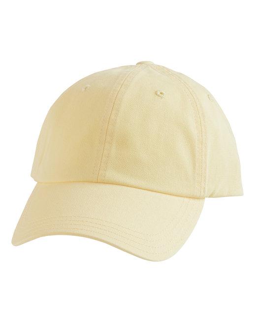 Alternative Basic Chino Twill Cap - Pale Yellow