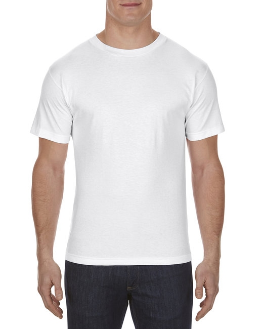 Alstyle Adult 6.0 oz., 100% Cotton T-Shirt - White