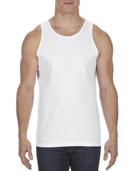 Alstyle Adult 6.0 oz., 100% Cotton Tank Top - White