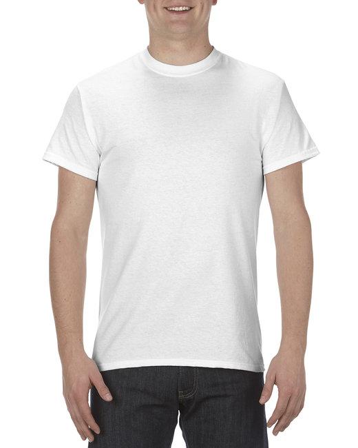 Alstyle Adult 5.1 oz., 100% Cotton T-Shirt - White