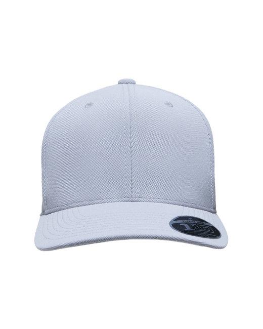 Team 365 by Flexfit Adult Cool & Dry Mini Pique Performance Cap - Sport Silver