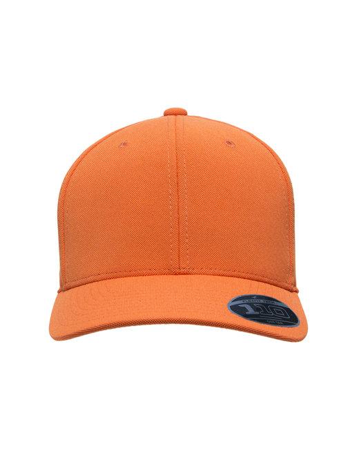 Team 365 by Flexfit Adult Cool & Dry Mini Pique Performance Cap - Sport Orange