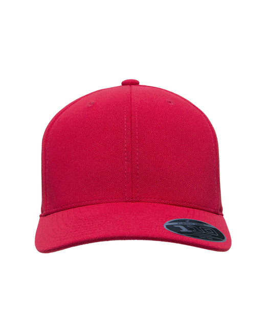 Team 365 by Flexfit Adult Cool & Dry Mini Pique Performance Cap - Sport Red