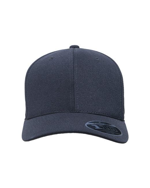 Team 365 by Flexfit Adult Cool & Dry Mini Pique Performance Cap - Black