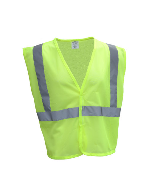 Bright Shield Adult Mesh Vest - Safety Green