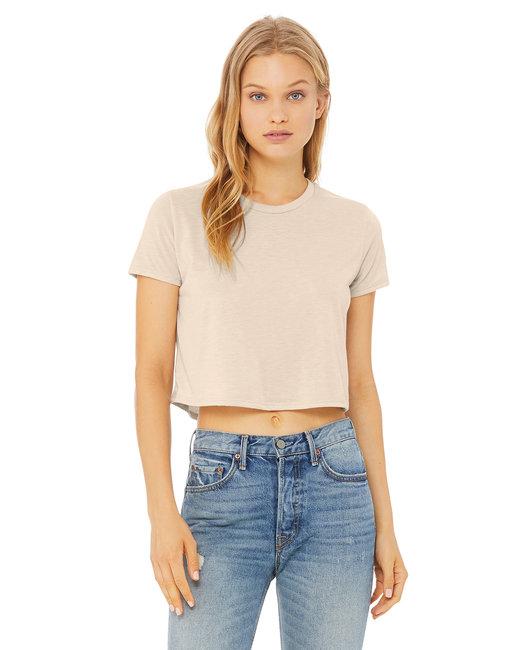 7cb9690356 B8882 Bella + Canvas Ladies  Flowy Cropped T-Shirt