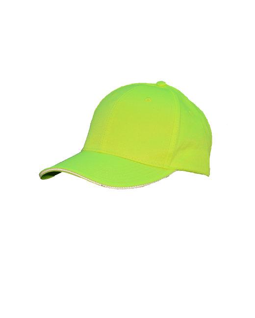 Bright Shield Basic Baseball Cap - Safety Green