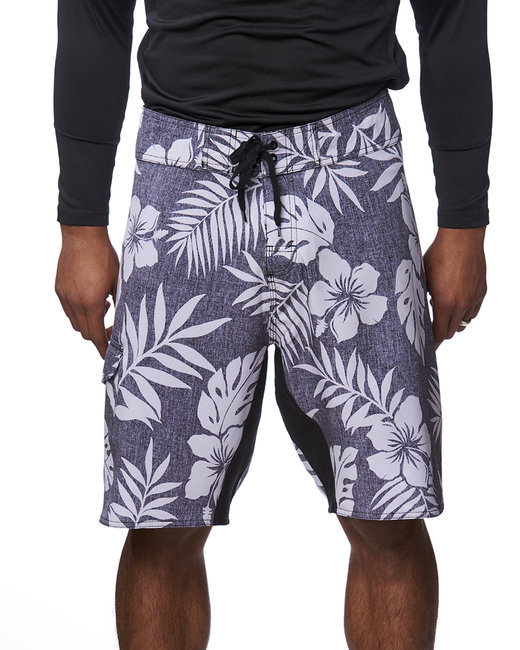 Burnside Men's Dobby Stretch Board Short - Floral