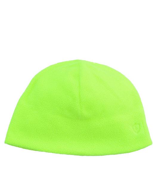 Bright Shield Fleece Beanie - Safety Green