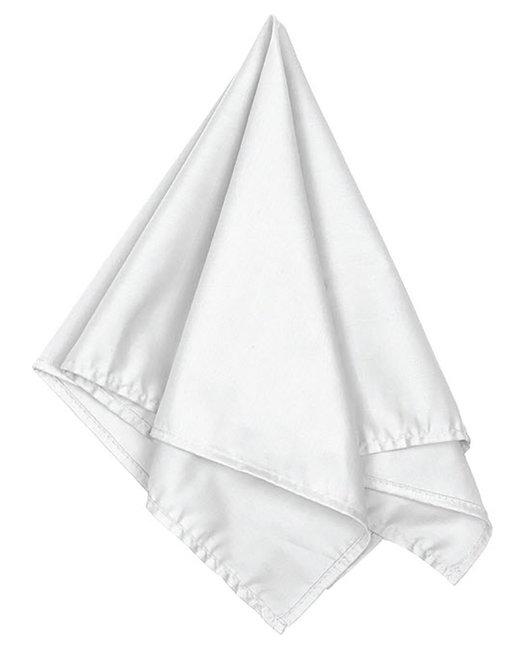 Big Accessories Solid Bandana - White