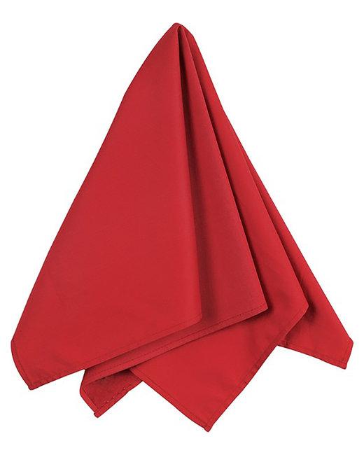 Big Accessories Solid Bandana - Red