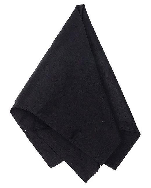 Big Accessories Solid Bandana - Black