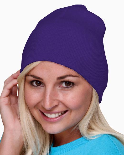 Bayside 100% Acrylic Beanie - Purple
