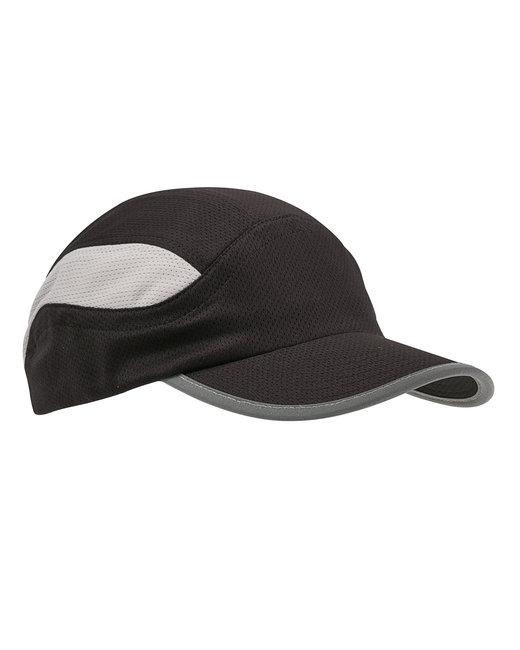 Big Accessories Mesh Runner Cap - Black