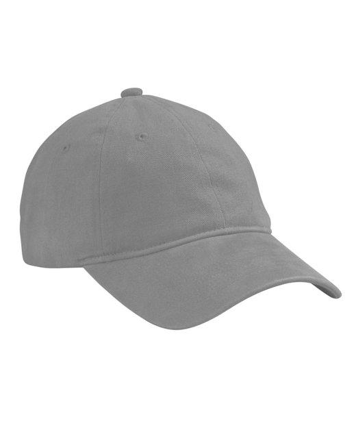 Big Accessories Brushed HeavyWeight Twill Cap - Grey