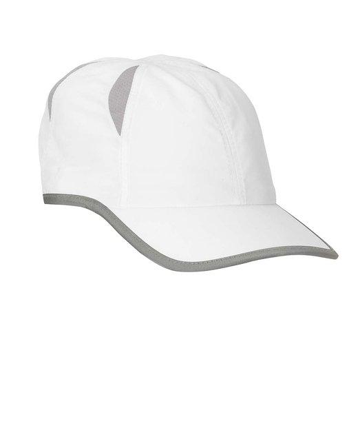 Big Accessories Performance Cap - White