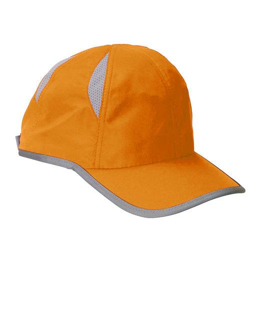 Big Accessories Performance Cap - Bright Orange