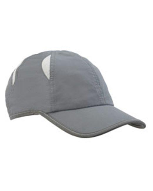 Big Accessories Performance Cap - Grey