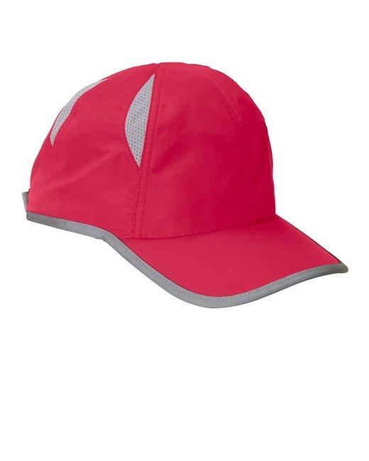 Big Accessories Performance Cap - Red