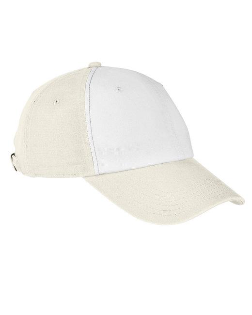 Big Accessories 100% Washed Cotton Twill Baseball Cap - Stone/ Cypress