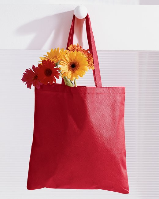 BAGedge 8 oz. Canvas Tote - Red