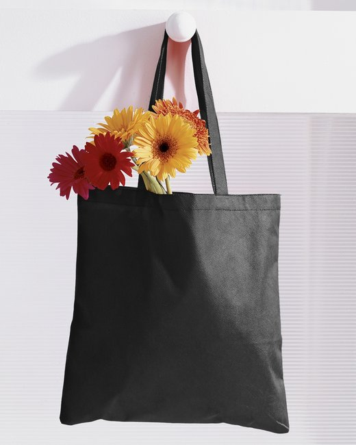 BAGedge 8 oz. Canvas Tote - Black