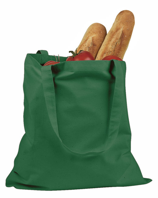 BAGedge 6 oz. Canvas Promo Tote - Forest