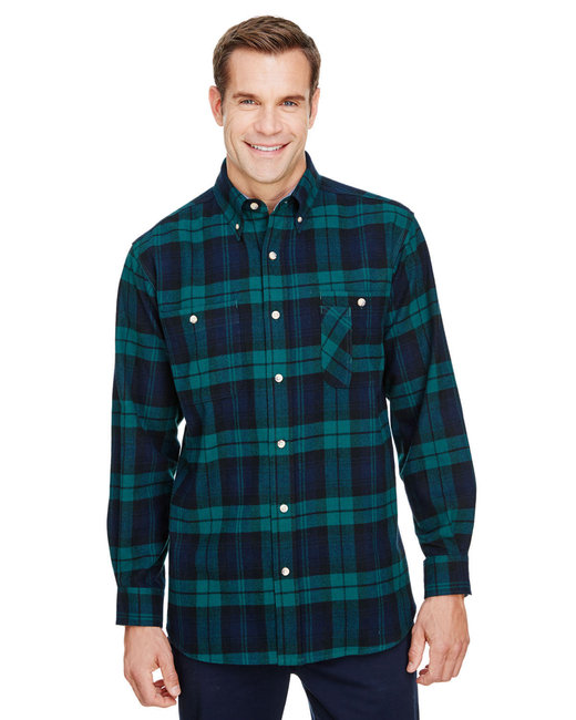 Backpacker Men's Tall Yarn-Dyed Flannel Shirt - Black Watch