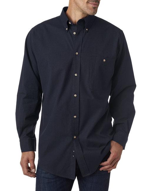 Backpacker Men's Nailhead Long-Sleeve Woven Shirt - Navy