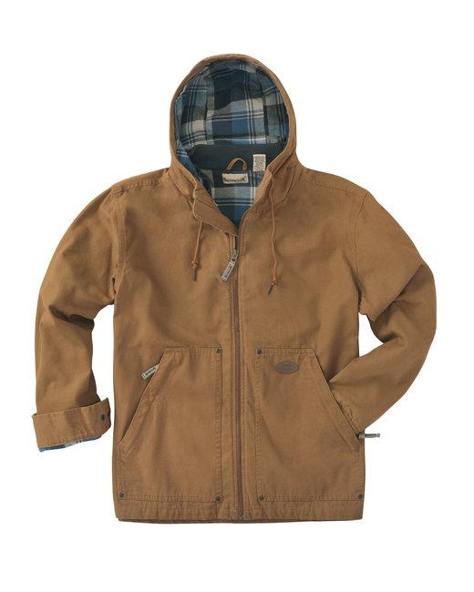 Backpacker Men's Tall Hooded Navigator Jacket - Brown