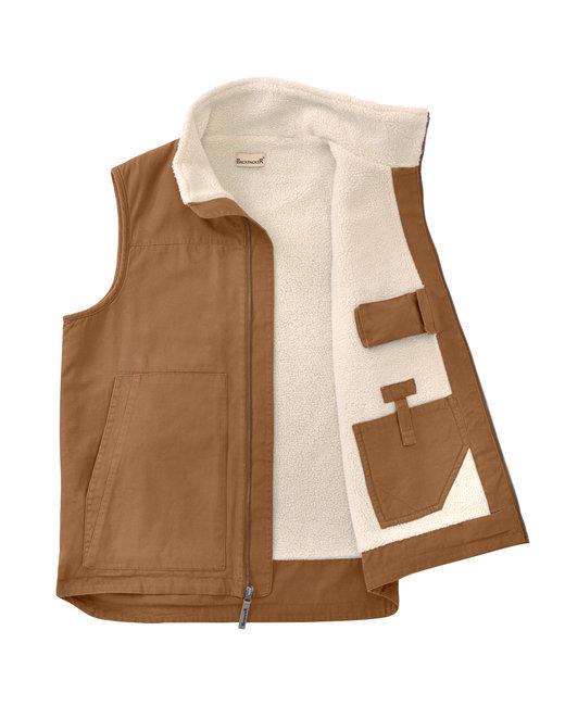 Backpacker Men's Conceal Carry Vest - Brown