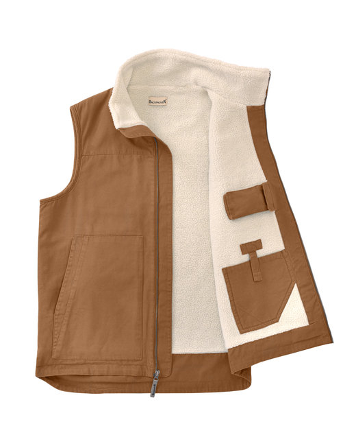 Backpacker Men's Tall Conceal Carry Vest - Brown