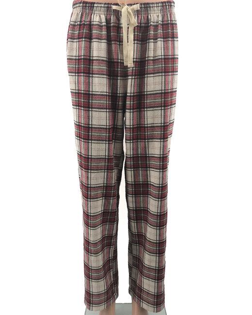 Backpacker Ladies' Flannel Lounge Pants - Brick