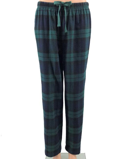 Backpacker Ladies' Flannel Lounge Pants - Black Watch