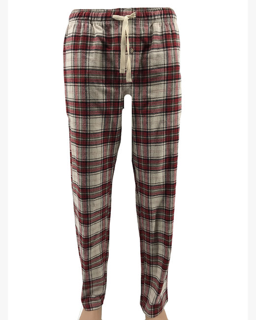 Backpacker Men's Flannel Lounge Pants - Brick