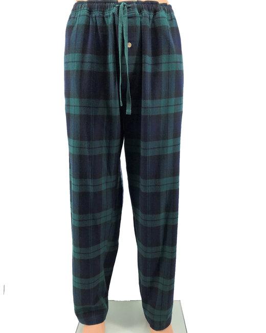Backpacker Men's Flannel Lounge Pants - Black Watch