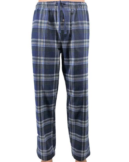 Backpacker Men's Flannel Lounge Pants - Blue/ Green