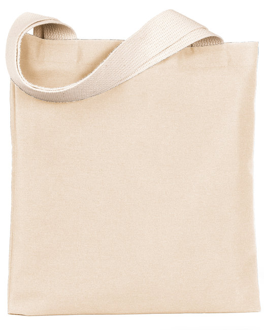Bayside 7 oz., Poly/Cotton Promotional Tote - Natural