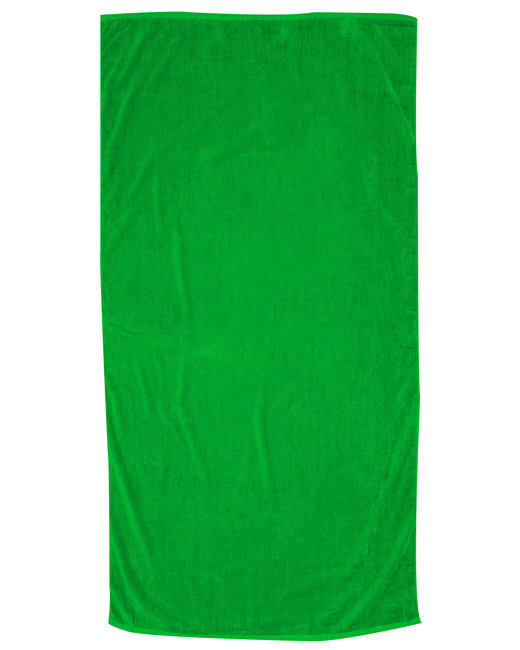 Pro Towels Jewel Collection Beach Towel - Lime Green
