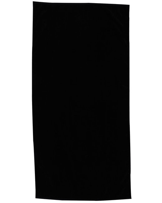 Pro Towels Jewel Collection Beach Towel - Black