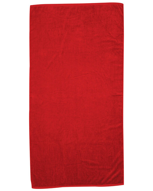Pro Towels Jewel Collection Beach Towel - Red