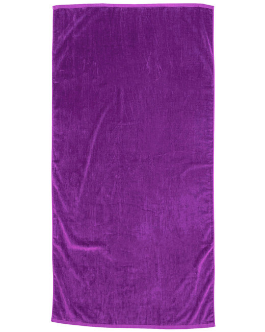 Pro Towels Jewel Collection Beach Towel - Purple