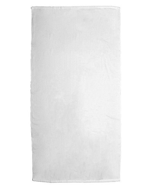 Pro Towels Platinum Collection 35x70 White Beach Towel