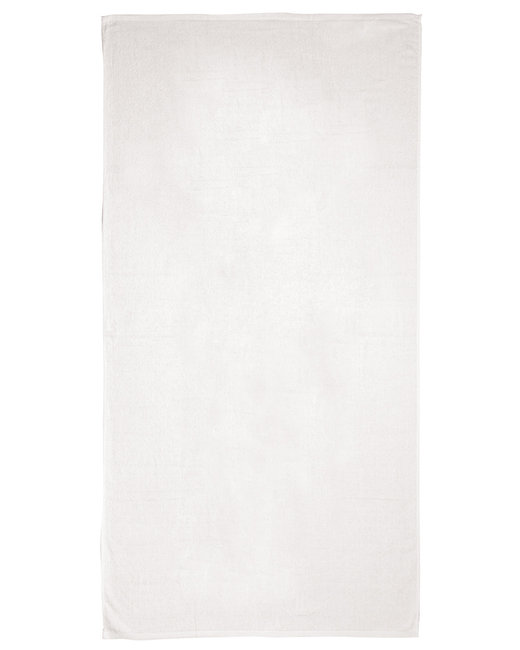 Pro Towels Jewel Collection Beach Towel - White