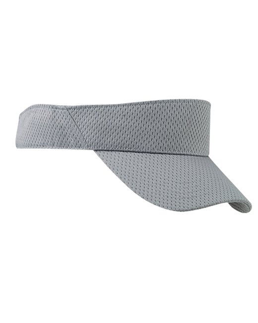 Big Accessories Sport Visor with Mesh - Grey